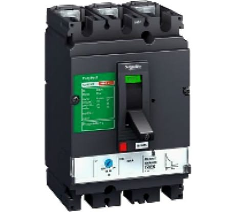 Фото автомата Schneider Electric CVS160F 3п 125A 36кА LV516332