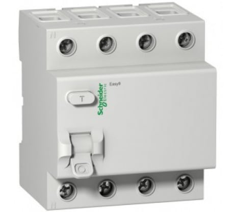Фото уза Schneider Electric EASY 9 4п, 63 А, 30 мА, AC SchE EZ9R34463