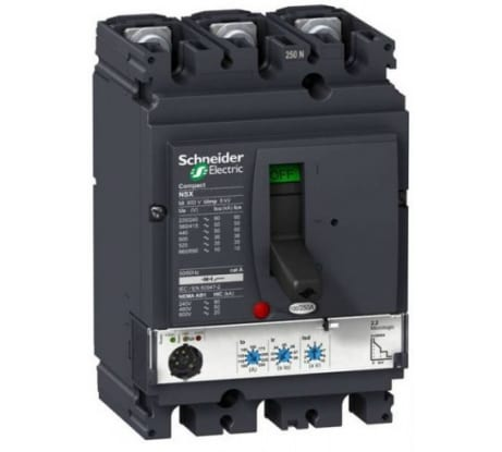 Фото автомата Schneider Electric NSX100F 3п TM100D 100A LV429630