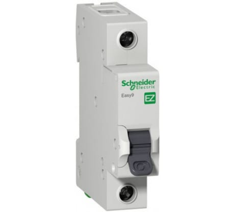 Фотомодульного автомата Schneider Electric EASY 9 1п C 50А 4.5кА EZ9F34150