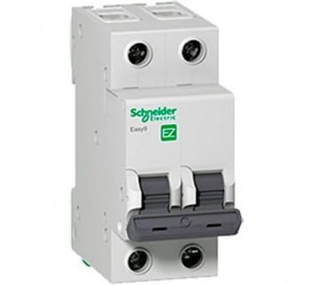 Фотомодульного автомата Schneider Electric EASY 9 2п C 16А 4.5кА EZ9F34216