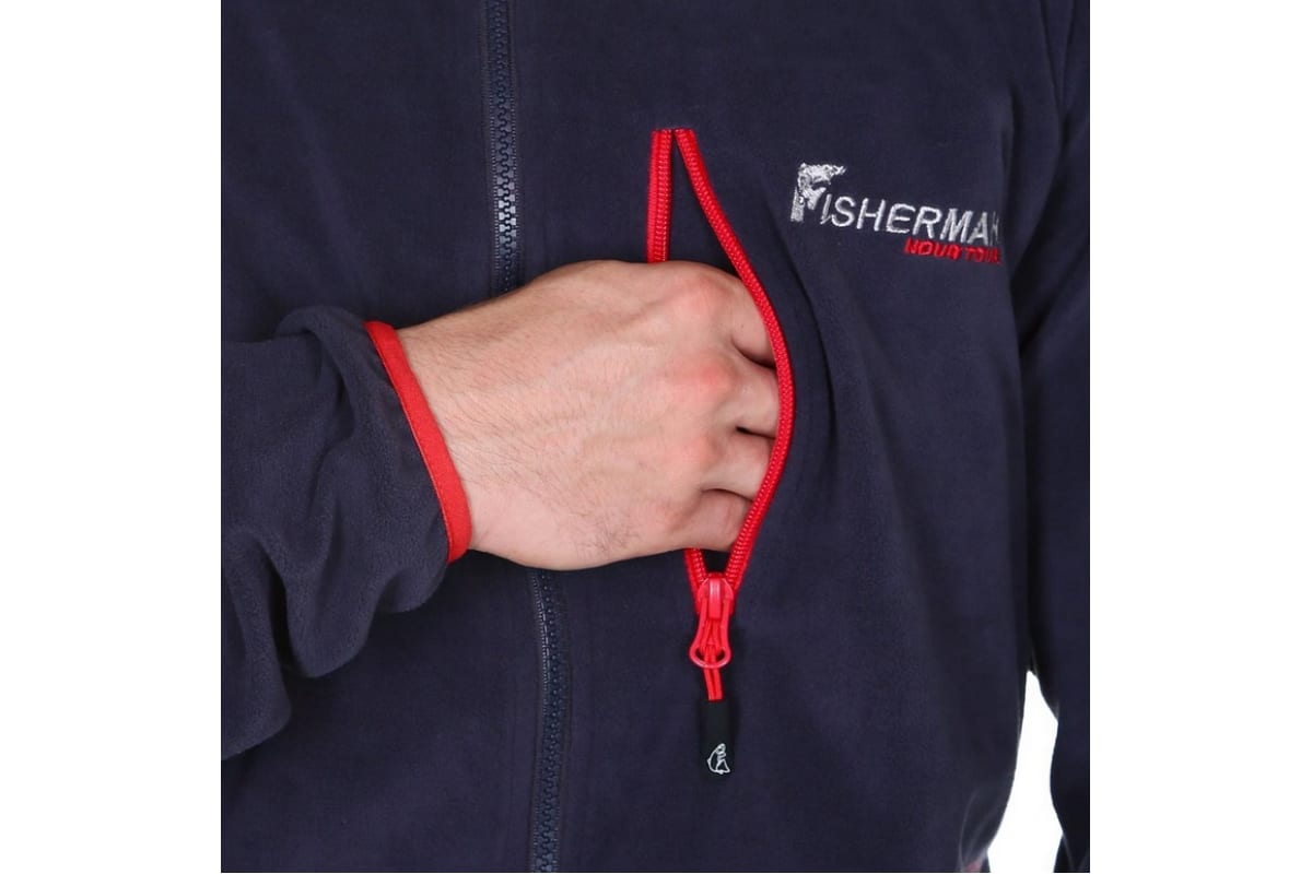 Куртка FISHERMAN nova tour Саммер V2 XS, графит 95433-924-XS  2