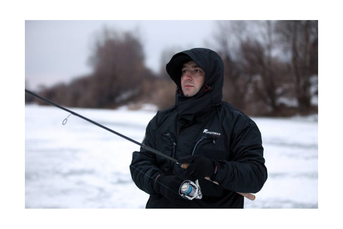Костюм FISHERMAN nova tour Салмон черный, р.XS 46213-901-XS  3