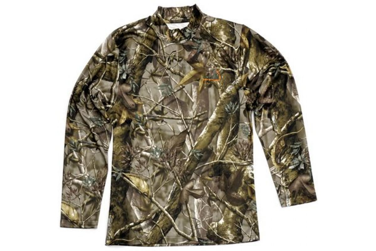 Футболка Norfin Hunting ALDER LONG SLEEVE PASSION GREEN 01 р.S 727001-S  1