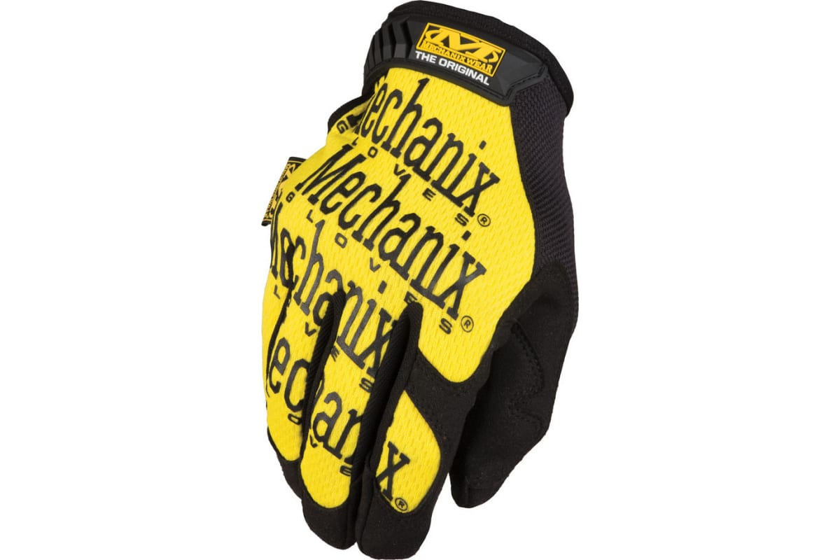 Перчатки Mechanix Original-YELLOW р.M MG-01-M  1