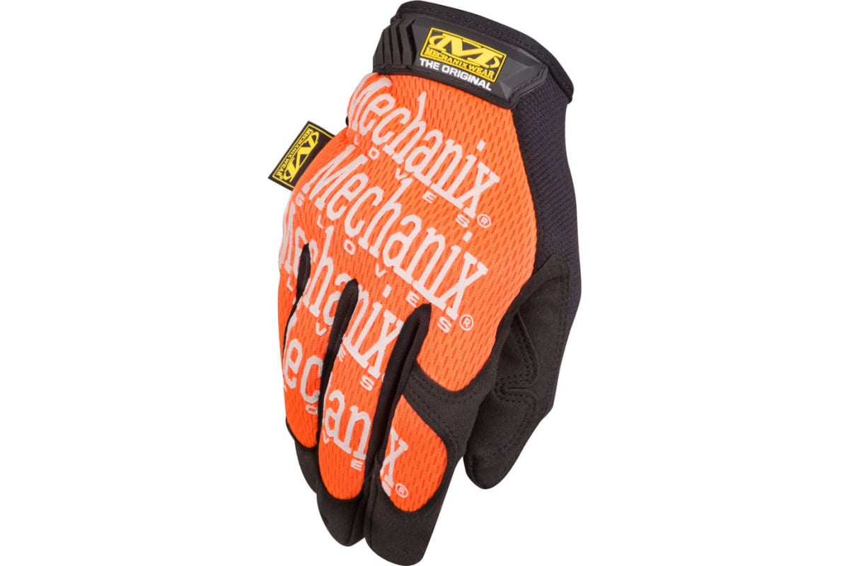 Перчатки Mechanix Original-ORANGE р.M MG-09-M  1