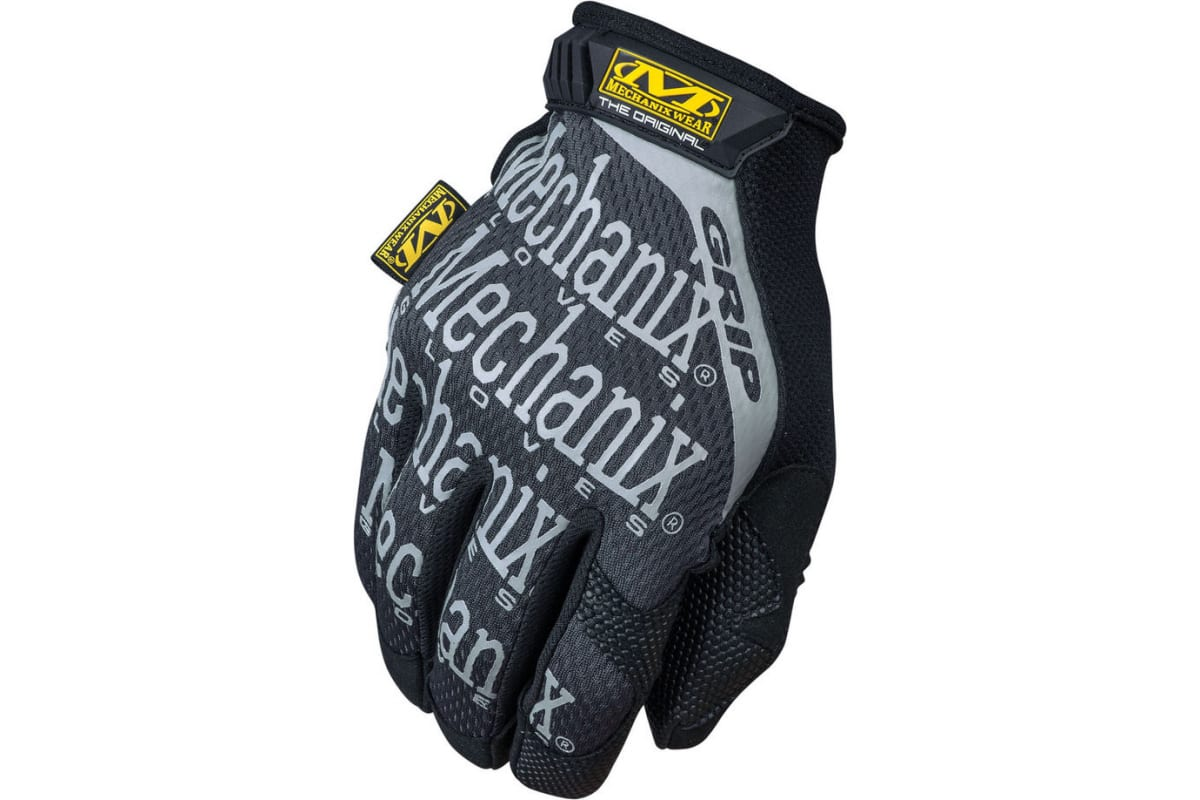 Перчатки Mechanix Original GRIP-BLACK р.L MGG-05-L  1