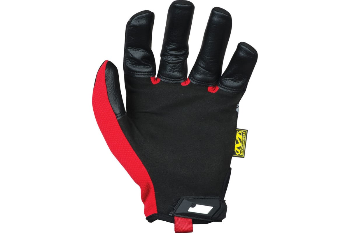 Перчатки Mechanix Original High ABRASION-BLACK/RED р.XL MGP-08-XL  2